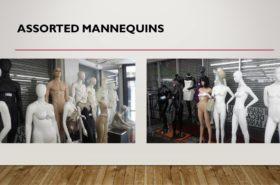 ASSORTED MANNEQUINES