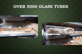 OVER 5000 GLASS TUBES